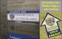 Beschreibung zum Gold Ankauf über dem Notar Kraus am Hauptplatz