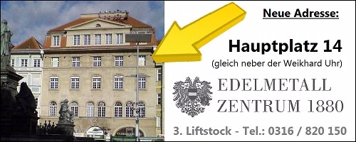 Foto Haus Hauptplatz 14 in Graz - Münzhandel und Edelmetallzentrum