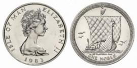 Münzen Platin Isle of Main Münzhandel Bild