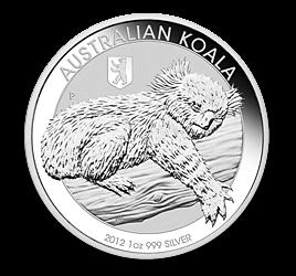Koala Silbermünze Wert Verkauf Münzhandel Foto